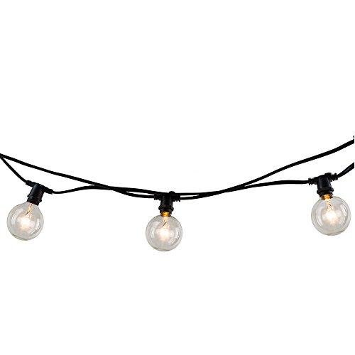 Bulbrite 810054 String10/E12/Black-G16KT Indoor & Outdoor St