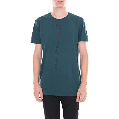 T Vert solid À Sansone shirt Ponderosa Courtes Manches PA1R8q