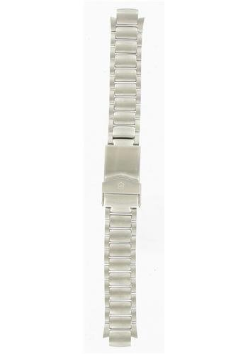 Swiss Army Brand 13/20mm-Stainless Steel-Silver Tone Large
