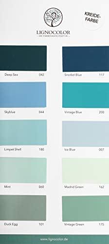 Lignocolor Old Shabby Chic Kreidefarbe Farbtonkarte Echtaufstriche Amazon De Baumarkt