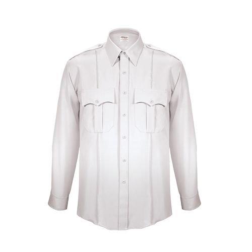 - Elbeco Men's Textrop2 Long Sleeve Shirt With Zipper Front