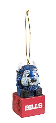 Team Sports America 3OT3803MAS Buffalo Bills Mascot Ornament (Buffalo Bills Ornaments)
