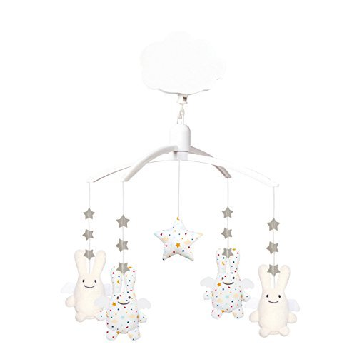 Trousselier Musical Mobile Bunny (Stars) by Trousselier by Trousselier