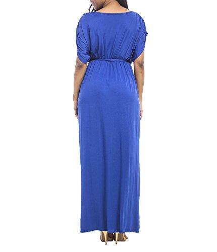 Grande Manche Tunique Taille Boheme Femme V Chic Longue Lace Courte Ete Col Decontract Robe Casual qnwTxtIvYz