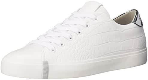 A|X Armani Exchange Women's Croc Low Top Sneaker