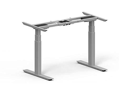 Sunon Anthrodesk Sit to Stand Height Adjustable Standing Desk (Fast Assembly Silver Dual Motor), Black by AnthroDesk (Image #2)