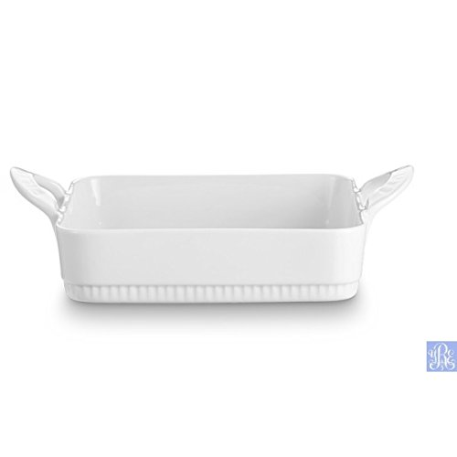 Pillivuyt Toulouse Rectangular Baker 11.25 x 9.5-inches White Porcelain