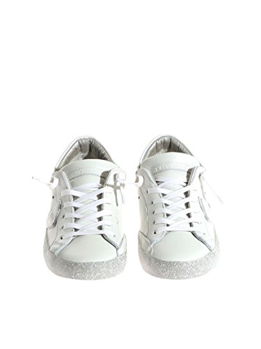 Leder Sneakers Model Damen CGLDVL08 Weiss Philippe q4AcfUwxan