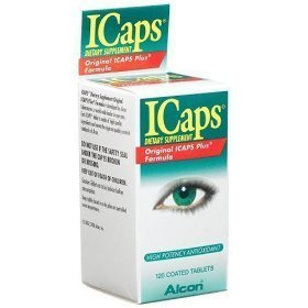 Icaps I-Caps Mv Eye Vitamin & Mineral Supplement Lutein Enriched, Coated Tablets 100 -