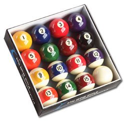 (Professional Pool Ball Set, 2-1/4
