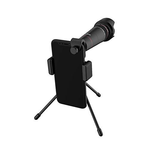 YYLH Telefono Movil Camara lentes Kit,20X Teleobjetivo Solo Cilindro Cabeza del Telescopio,Zoom Cámara Externa,Incluyendo...