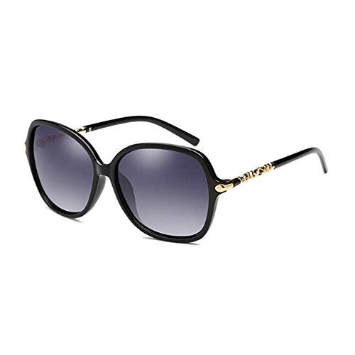 Noir UV UVA Round lunettes Visage visage WLHW lunettes Lunettes de petites soleil soleil Long UVB Eye Anti polarisées de 4UF0gn1xwq