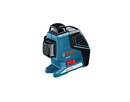 Bosch GLL 3-80 LR2 Three Plane Leveling and Alignment Laser with Line Laser Receiver