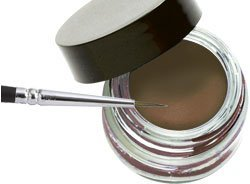 Jolie No Smudge Waterproof Indelible Gel Eyeliner 3g/(0.1oz) (Chocolate Mousse) by (3g Gel Skin)