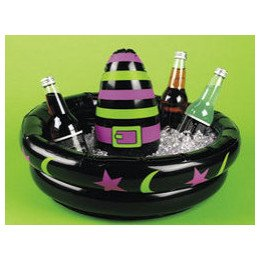WITCH HAT Beverage COOLER-Inflatable HALLOWEEN Party DECORATION/Trick or