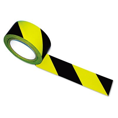 Hazard Marking Aisle Tape, 2w x 108ft Roll, Sold as 1 Roll (Tape Hazard Tatco Marking)