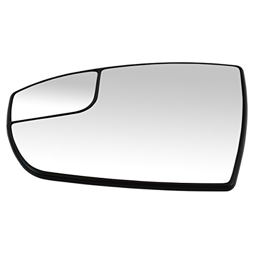 Price comparison product image Power Spotter Mirror Glass with Mounting Base Plate Driver Side for C-Max Escape