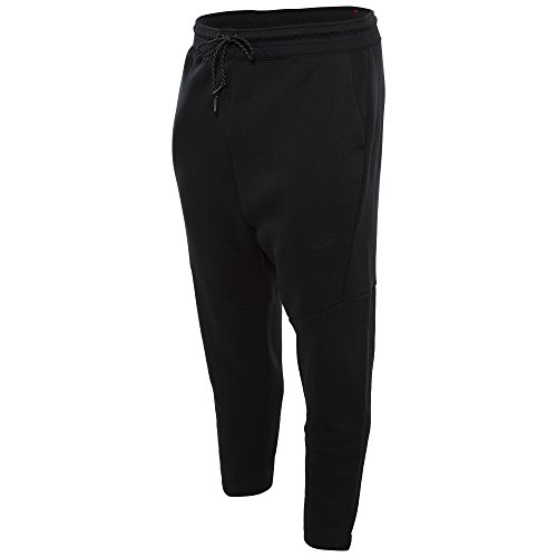 Nike Tech Fleece Cropped Men's Pants, Black, (Cropped Fleece Pant)