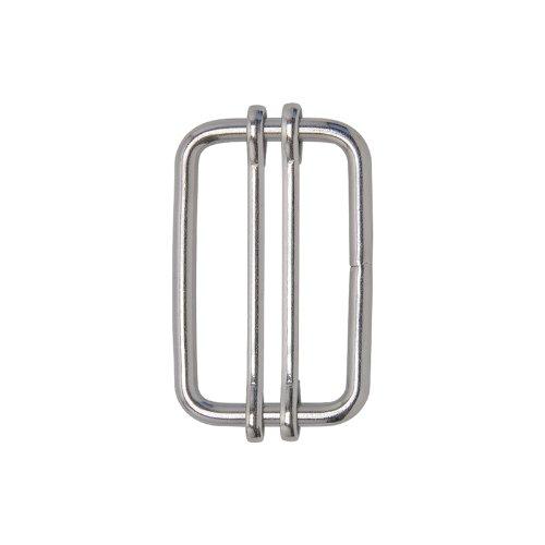 5x connecteurs à boucle pour rubans de clôture jusqu'à 40mm en acier inox (sans bec)