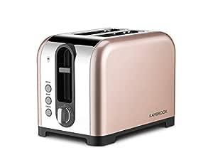 Kambrook Extra Lift Polished 2 Slice Toaster KTA265CMP