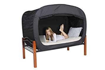 Privacy Pop Bed Tent (Full) - BLACK by Privacy Pop  sc 1 st  Amazon UK & Privacy Pop Bed Tent (Full) - BLACK by Privacy Pop: Amazon.co.uk ...