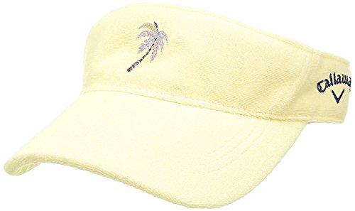ロイヤリティシプリー艦隊(キャロウェイ アパレル) Callaway Apparel [ レディース] パイル サンバイザー (サイズ調整) / 241-8184808 / 帽子 ゴルフ