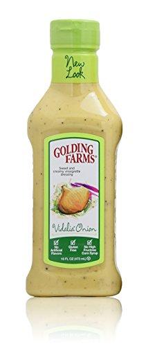 Golding Farms Vidalia Onion 16 oz (Pack of 3) (Creamy Vidalia Onion Dressing)