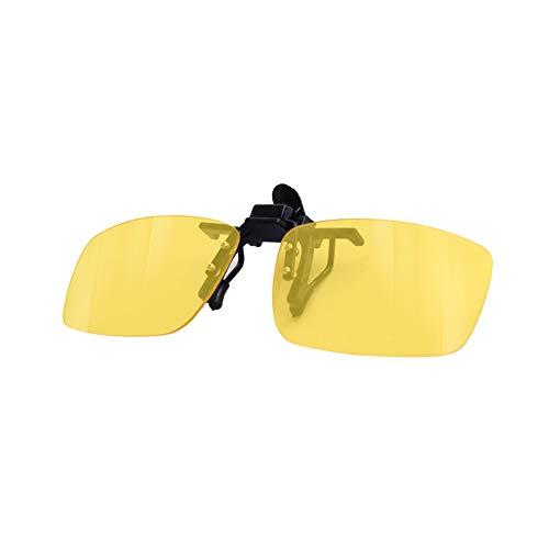 Clip-on Blue Light Blocking Glasses Rimless Lenses, Flip Up Eyewear UV Filter Clear Lens Anti Eye Strain Reading Glasses