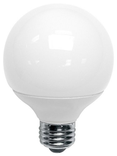 (6-Pack) TCP 8060092 9-Watt 2700K CFL G25 Globe SpringLight Lamp, 40W Equivalent