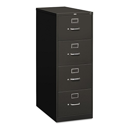 HON 314CPS 310 Series Four-Drawer, Full-Suspension File, Legal, 26-1/2d, Charcoal (Hon 314cp 310 Series)