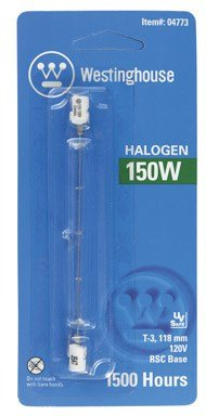 Westinghouse Double-Ended Long Halogen Bulb 150 W 2400 Lumens T3 4-11/16 In. Clear Carded