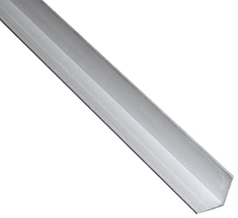 Aluminum 6063-T5 Extruded Angle, ASTM B221