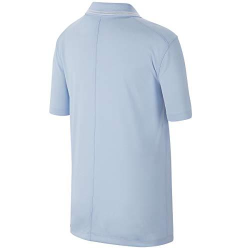 Nike Junior's Dry Victory Polo BV0404 (Hydrogen Blue, Medium) 2