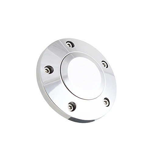 5 Hole Billet Plain Horn Button