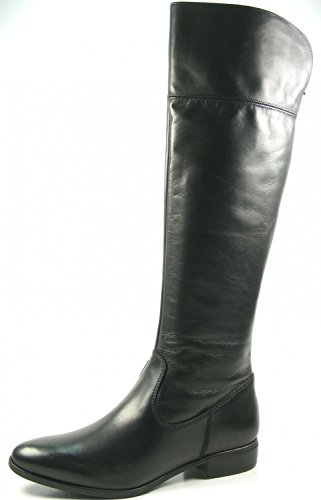 29 25588 Tamaris 1 Black Leather Womens 001 Boots z5zExrO
