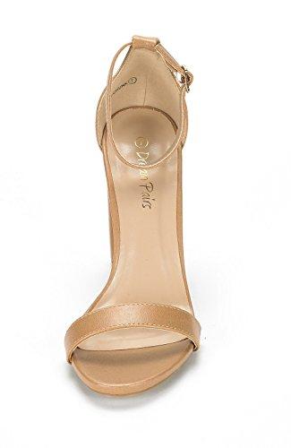 Paio Di Scarpe Da Donna Hi-chunk Sandali Con Tacco Alto Pompe Nude