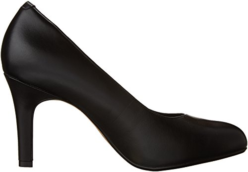 Women's Star Leather Pump Black Clarks Heavenly 1SdwxTT
