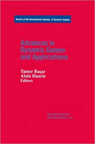 Download E Books Advances In Dynamic Games And Applications Annals