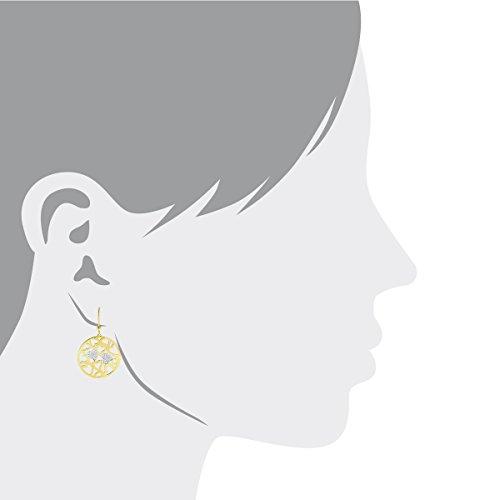 Bella Donna - Boucles d'oreilles - Or 2 couleurs  - 6085OHR4B