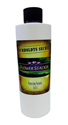 Flowering Food Plant (Humboldts Secret Best Flowering Plant Food Flower Stacker - Let Your Flowers Mature to Their Maximum Potential (8 Ounce))
