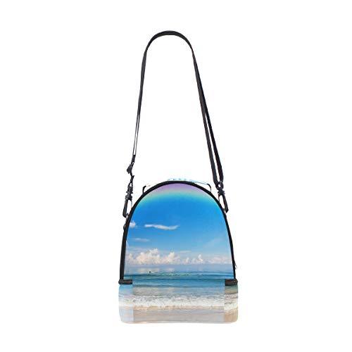 Cooler Sac pique épaule Beach déjeuner à pour Sangle on double Rainbow réglable nique the AfqZ8