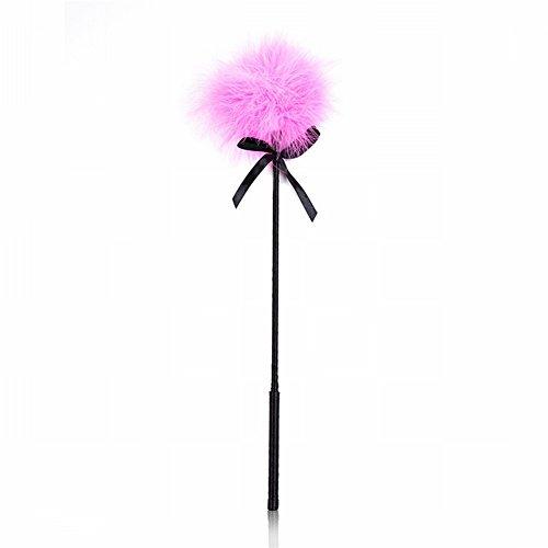 Nightclub Stage Performing Props Suministros para Adultos Pink Ribbon Feather Brush / Shield Mariposa Satin Mantequilla Cinturón Itch Trick / Hard Shirt / Pareja Hacer Amor Juguetes,Pink pake 5 Pink pake 5