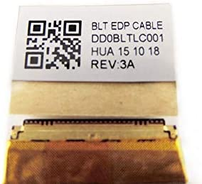 DD0BLTLC001 Original New LVDS LCD Video Display Screen EDP Cable Replacement for Toshiba Satellite C55-C C55D-C C55D-C5271 C55D-C5251 C55DT-C C55DT-C5245 L55D-C Series:L55D-C5227