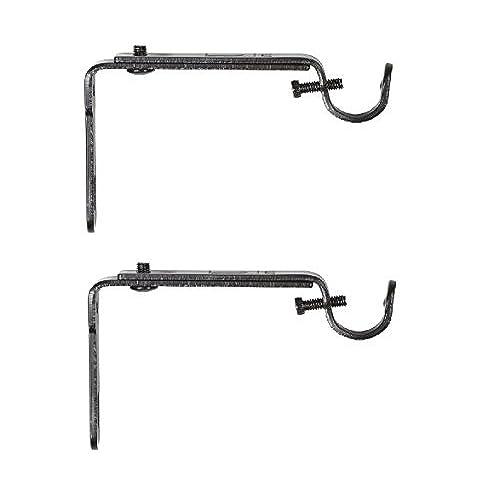 Grommet Curtain Rods Amazon Com