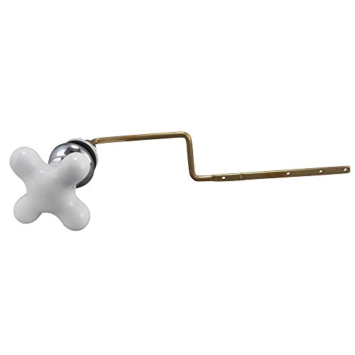 Keeney Plumb Pak PP836-72POL Universal Fit Toilet Tank Lever Cross Style Handle, ()