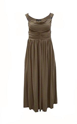 weekend-maxmara-womens-romania-ruched-sleeveless-maxi-dress-sz-s-khaki-green-150835