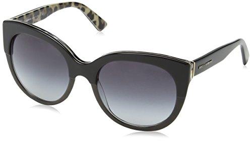 Dolce & Gabbana DG4259 2857/8G Black / Leo DG4259 Cats Ey...