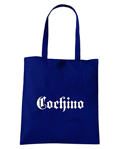 OLD Navy Shirt COCHINO FUN1024 ENGLISH Blu Shopper Borsa Speed wI0qFF