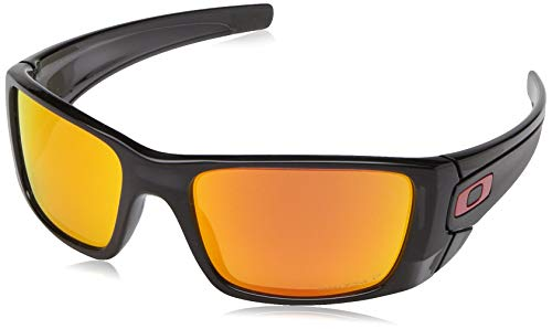 Oakley Men's Fuel Cell Rectangular Sunglasses, Black, used for sale  Delivered anywhere in USA