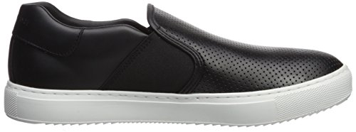 Men Slip Sneaker Armani X A Black Exchange on Perforated 7xqwCxtpZ